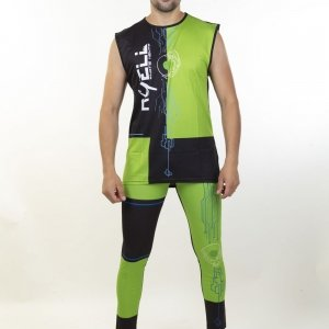 COMPLETO Hitech Cyborg Green