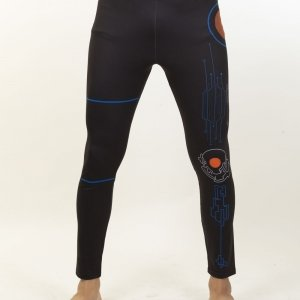LEGGINGS Hitech Full Blue 18